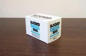 【モノクロネガフィルム 35mm】ILFORD(イルフォード) DELTA100 36枚撮り