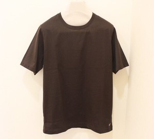 Harriss × CADETTO Exclusive T-shirt Brown-khaki&Beige