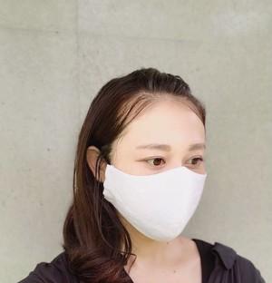 【 高密度プルミエルリネンのミニマルなマスク】高密度プルミエルリネン涼感素材夏用マスク 通気性 速乾- 涼感マスク 冷感マスク リネンのマスク 洗えるマスク -1〜2週間以内に発送-