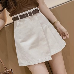 pleats casual skirt 3color