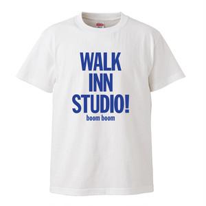 WALK INN KIDS Tee <ブルーロゴ>