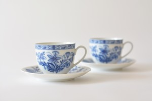 vintage コーヒーカップ&ソーサー 2客セット