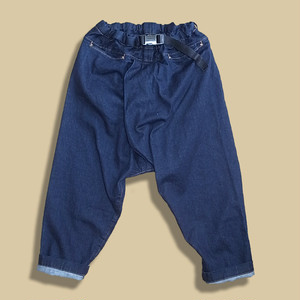 WCH Twisted Sarrouel Pants -Denim
