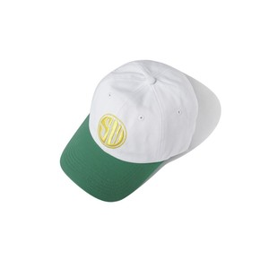 SAINTWOODS SW RACING HAT(WHITE/GREEN)