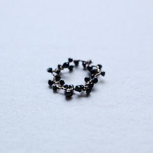 ブラックダイヤモンドピンキーリング [01578-01584]