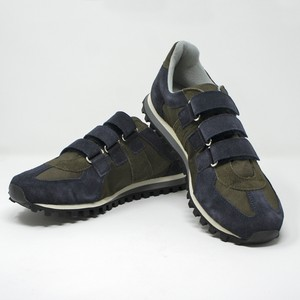 GERMAN TRAINER MARATHON VELCRO <OLIVE/NAVY>