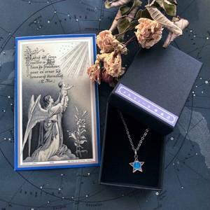 星のメダイと天使のデスカード