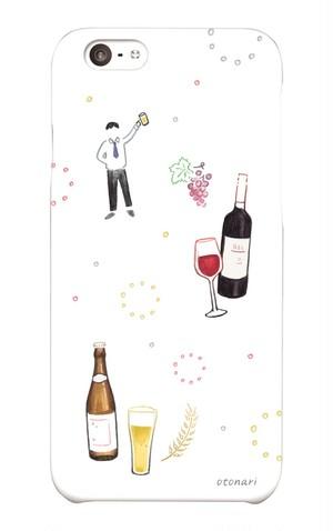 オトナリiPhoneケース「乾杯!」《iPhone6/6S専用》