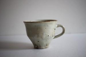 山田隆太郎|もみ灰釉コーヒーカップ