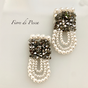 Beatrice Pierce(Earing) grey L