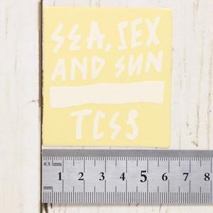 [クリックポスト対応] TCSS Sticker 00016 ステッカー