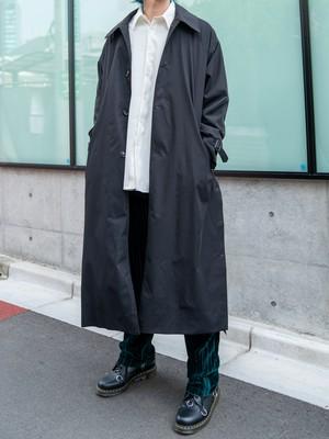 【UNISEX - 1 size】SIDESLIT LONG COAT / Black