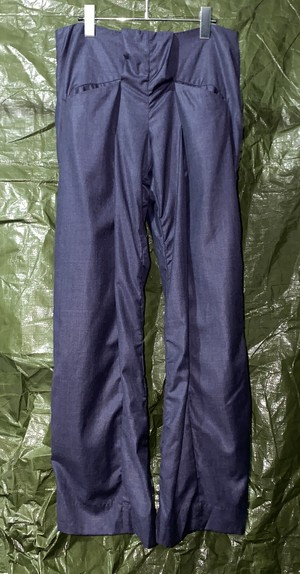 SS2015 AND RE WALKER INNER  PLEATED TROUSERS