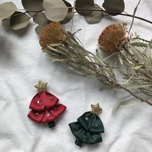 韓国子供服 クリスマスヘアピン