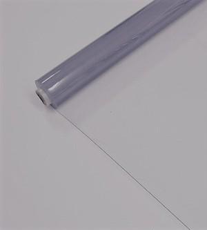 透明ビニールクロス 防炎 0.1mm厚 91.5cm巾 50m巻 感染予防/間仕切り