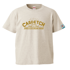 カスデッチTシャツ Kids オートミール