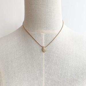 Dior ラインストーンネックレス