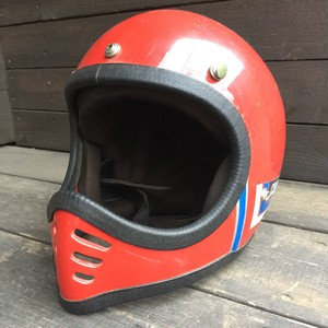 VINTAGE HELMET(RED)