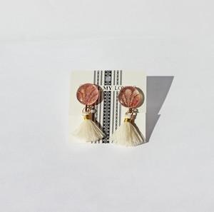 博多織フリンジイヤリング1 ピアス *カラー・金具選択
