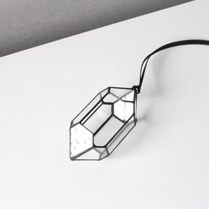 ガラス結晶形態模型 / ジルコン ハンギングタイプ