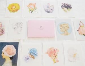 ポストカード12枚セット:第三集「薔薇の肖像」