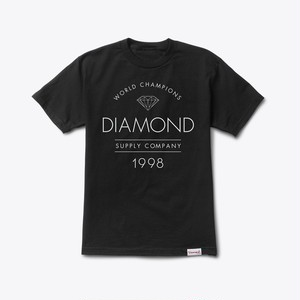 Diamond Supply Co. - Craftsman tee BLACK