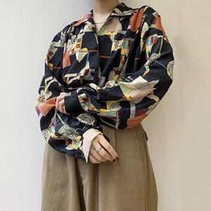made in France vintage blouse.