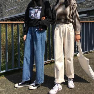 【お取り寄せ商品】ボーイッシュルーズデニム  8103