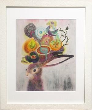 「pinkcrazyrabbit Ⅱ」Giclee Print(L)
