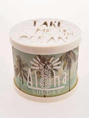 【kahiko/カヒコ】ギフトに人気!オーシャンジェルフレグランス 香り缶 アロハサンデー