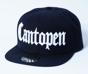 2018 Cantopen CAP Trucker Snap Back Cap Black x White