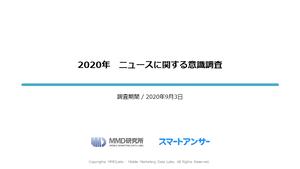 2020年 ニュースに関する意識調査
