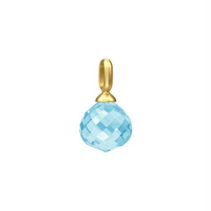 JULIE SANDLAU JOY PENDANT SKY BLUE CRYSTAL