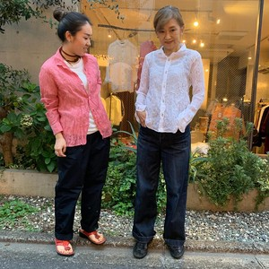 ☆webshop限定 新色追加くしゅくしゅシャツ
