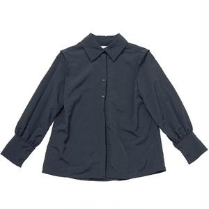 shoulder tack nylon blouse