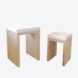 【DIYキット】 座面つき コの字椅子セット