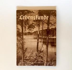 ドイツの古い生物学書  Lebensfunde 3