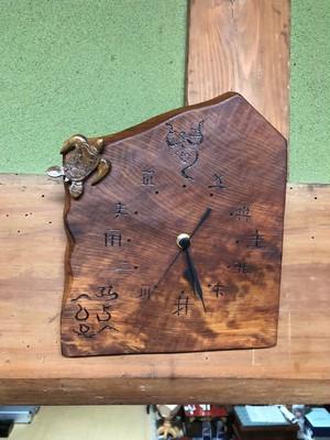 ひふみ文字の神様時計