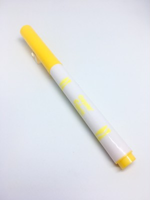 Crayola Fine Line Fabric Marker Yellow