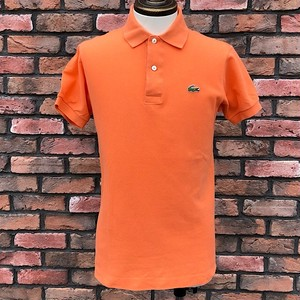 1980s Lacoste Polo Shirt Made In France Orange 3
