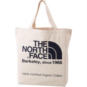 THE NORTH FACE (ザノースフェイス) TNFオーガニックコットントート (EB)ナチュラル×エステートブルー