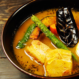 やわらか豚角煮スープカリ