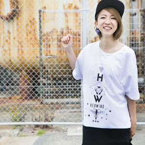 Cross Cut Bug T-shirt  White