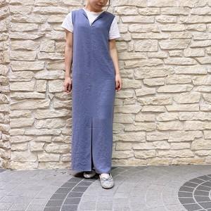 BED&BREAKFAST(ベッドアンドブレックファースト) Dry Stretch Georgette Sleeveless Dress 2021秋物新作 [送料無料]