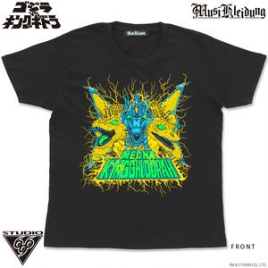 Musikleidung Kaiju Chronicle Tシャツ メカキングギドラ
