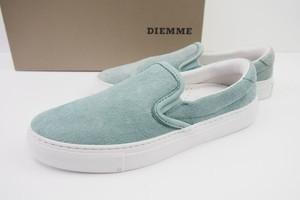 ディエッメ|DIEMME|レザースリッポンスニーカー|ガルダ|GARDA|39|BLUE SURF DEER Ⅱ