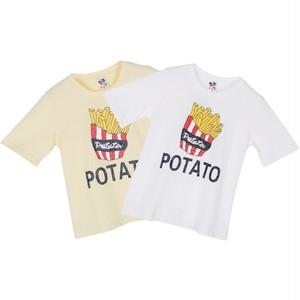 (SALE)POTATO アメリカンプリント半袖Tシャツ