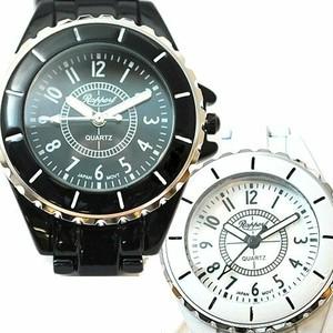 スマートなデゼル付きメタルベルトウォッチ ラポールウォッチ Rapport レディースファッション腕時計