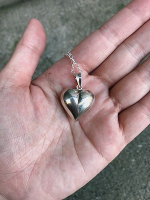 Vintage 925 silver heart mini necklace ( ヴィンテージ シルバー ハート ミニ ネックレス )
