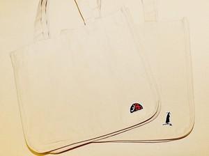 【詩展グッズ】刺繍ワッペントートバッグ